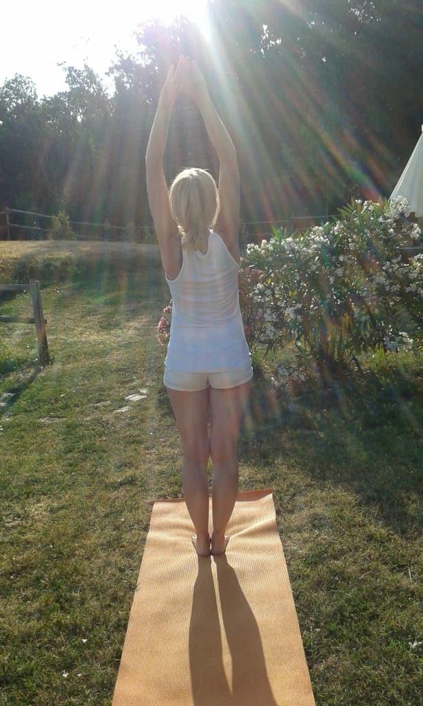 Urlaub und Yoga