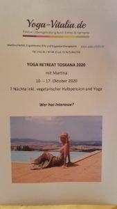 Yoga Retreat mit Martina