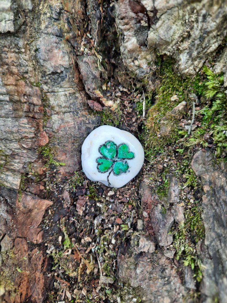 Das Glück wächst an einem Baum